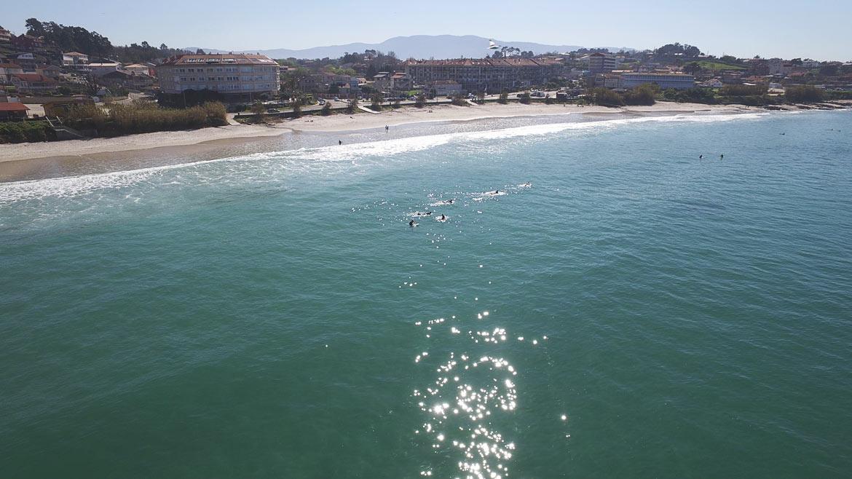 Playa de Patos Nigran Rias Baixas