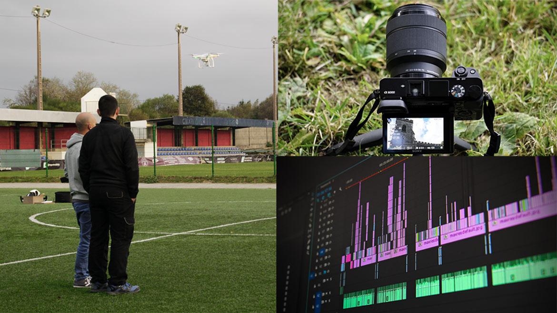 Formación especializada en drones vídeo fotografía edición