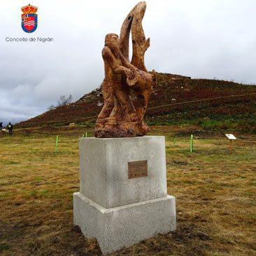 Incendios Ayuntamiento de Nigran evento primer Aniversario 15 octubre Chandebrito