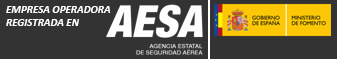 Empresa operadora drones registrada en AESA Nigran Pontevedra Galicia