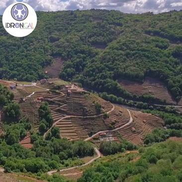 Imágenes de stock de vídeos aéreos y fotografías aéreas con dron y cámara de Galicia y norte Portugal - Lugo